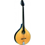 Ashbury Irish Bouzouki with Flat Back in Gloss Natural (GR33015)
