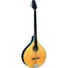 Ashbury Irish Bouzouki with All Solid Wood & Flat Back in Natural (GR33015)