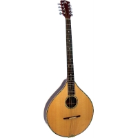 Ashbury Irish Bouzouki in Natural with Case (GR33017)