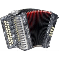Scarlatti G/C Melodeon, Czech Durall Reed with Gig Bag (GR42004)