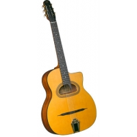 Cigano GJ15 Gypsy Jazz Guitar with D-hole (GR52028)