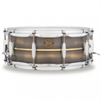"Gretsch 14"" x 5.5"" Gold Series Snare Drum, Brushed Brass"