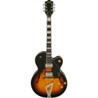 Gretsch G2420 Streamliner Hollow Body, Chromatic II Tailpiece, Aged Brooklyn Burst