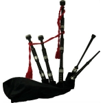 Bagpipes Galore Scottish Highland Blackwood Bagpipes with Case (26035)