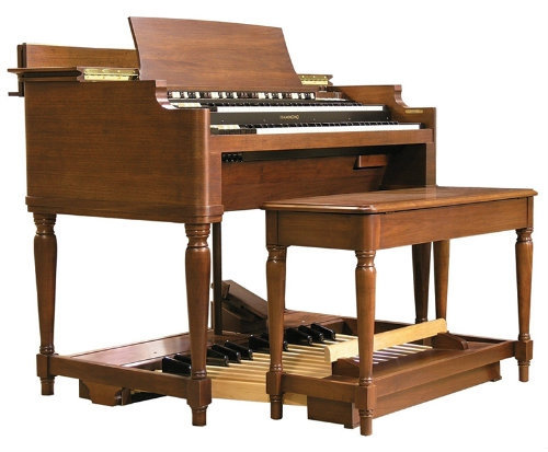 Hammond B3 Mk2 Classic Digital Organ with Pedalboard & Stool