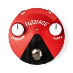 Jim Dunlop FFM6 Jimi Hendrix Fuzz Face Mini, Red