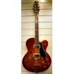 Heritage Thinline Eagle USA Archtop In Almond Burst & Case, Secondhand