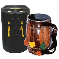 "Hardcase 12"" X 18"" Dholak Case No Wheels HNDHOL12"