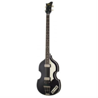 Hofner HCT5001 HCT Violin Bass Guitar, Black