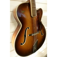 Hofner President 1960s Hollowbody Guitar in Sunburst