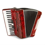 Hohner 1305 RED Student Hohnica Accordion, Secondhand