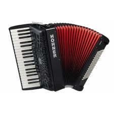 Hohner Bravo III 96 Accordion, Black