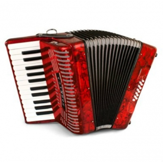 Hohner 1302 RED Student Hohnica Accordion