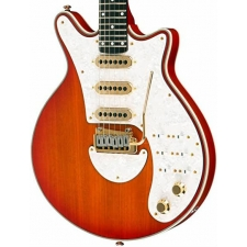 Brian May Red Special Signature Guitar in Honey Sunburst