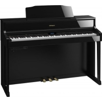 Roland HP605 Digital Piano in Polished Ebony