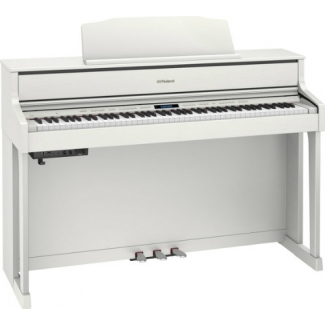 Roland HP605 Digital Piano in White (HP605WH)