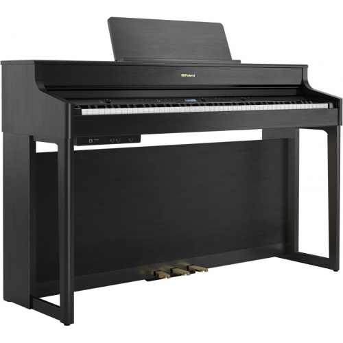 Roland HP702 Digital Piano in Charcoal Black