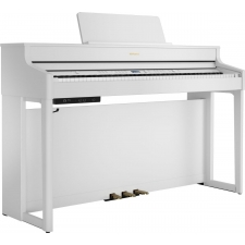 Roland HP702 Digital Piano in Satin White