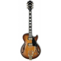 Ibanez AGS73T TBC Artcore Hollow Body Guitar, Tobacco Brown