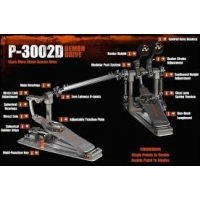 PEARL P3002D DEMON DRIVE DOUBLE PEDAL