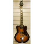 Italia Marinello 63 Electric Guitar in Sunburst, Pre-Owned