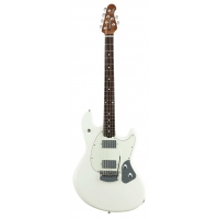 Music Man (USA Made) StingRay in Ivory White, with Tremolo