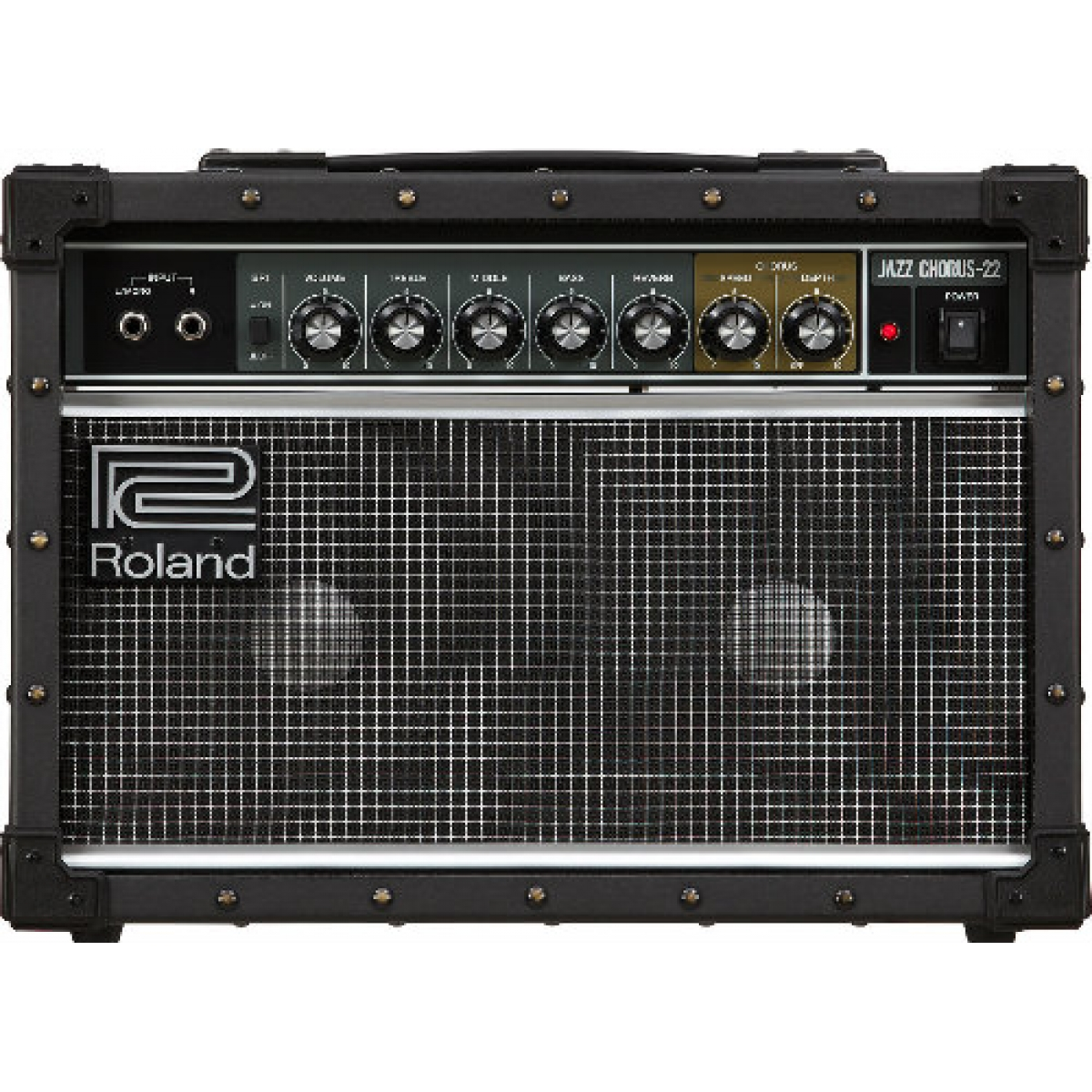 roland jc22 30w 2 x 6 5 stereo guitar combo at promenade music. Black Bedroom Furniture Sets. Home Design Ideas