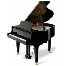 Kawai GL10SL Grand Piano in Ebony Polished Black With Silver Fittings