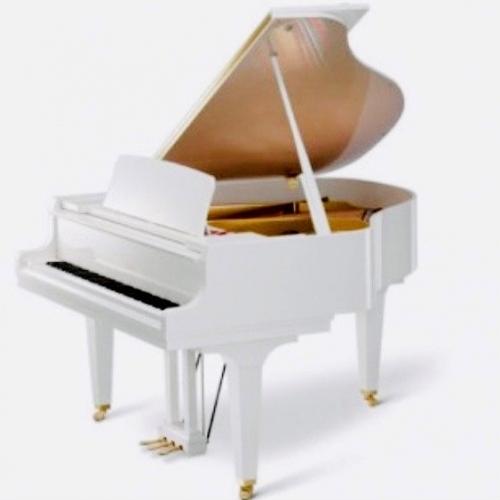 Kawai GL30 Grand Piano in Polished White