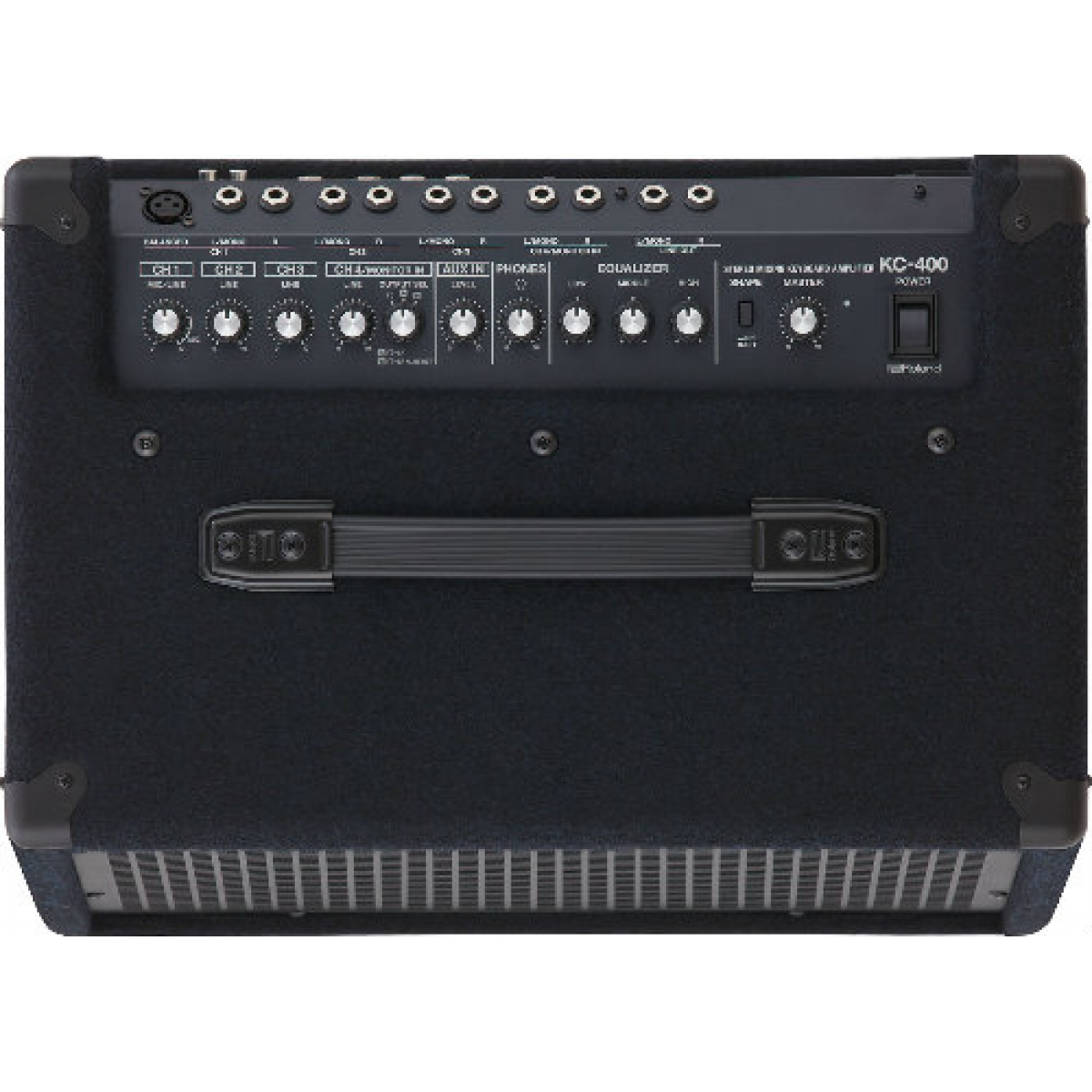 roland kc400 stereo mixing keyboard amplifier 150w 4 channels at promenade music. Black Bedroom Furniture Sets. Home Design Ideas