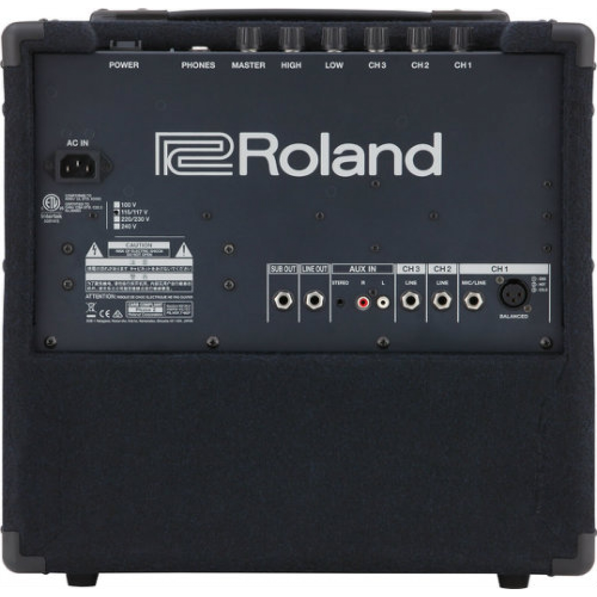 roland kc80 3 channel mixing keyboard drum amplifier 50w at promenade music. Black Bedroom Furniture Sets. Home Design Ideas