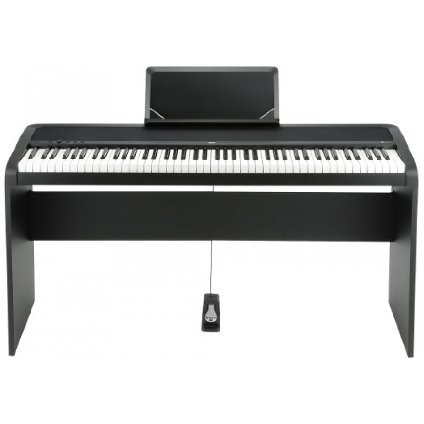 Korg b1 portable piano in black at promenade music for Korg or yamaha digital piano