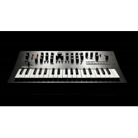 Korg Minilogue Polyphonic Analogue Synthesizer Ltd Edition, Polished Grey