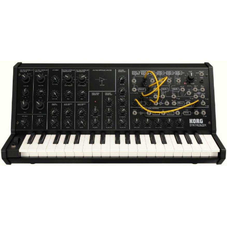 korg mini ms20 analog synth at promenade music. Black Bedroom Furniture Sets. Home Design Ideas