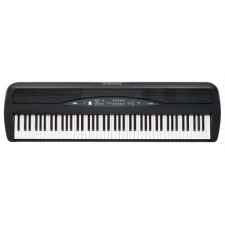Korg SP280 Portable Piano in Black (With Built-in Speakers)