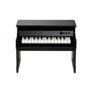 KORG tinyPIANO 25 Mini Key Digital Piano, Black Finish