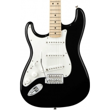 Fender Standard Stratocaster in Black, Lefthanded New Old Stock