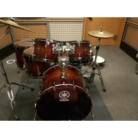 Yamaha Live Custom 6pc Shell Pack In Amber Shadow Sunburst