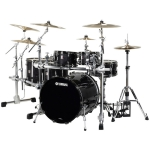 Yamaha Live Custom 5pc Shell Pack in Black Shadow Sunburst