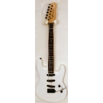 Lodestone Standard S Electric Guitar in White, Secondhand