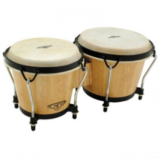 LP CP Traditional Bongos, Natural CP221-AW