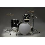 Ludwig Element Icon 4 Piece Kit, Black Sparkle