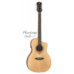 Luna Heartsong Series Parlor Electro Acoustic Guitar With USB Pickup
