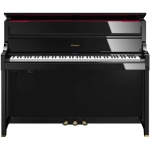 Roland LX17 Digital Upright Piano in Polished Ebony (LX17PE)