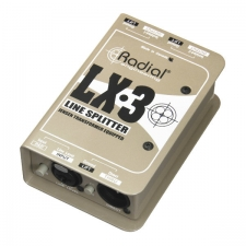 Radial LX3 Passive Line-Level Splitter