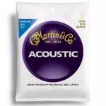 3 Sets of Martin M150 80/20 Bronze Acoustic Guitar Strings 13-56