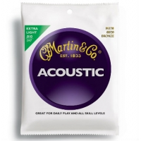 3 Sets of Martin M170 80/20 Bronze Acoustic Guitar Strings 10-47