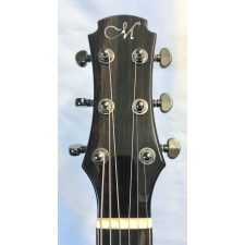 Maestro Double Top Raffles IR-CSB-D Small Jumbo Electro Acoustic With Case