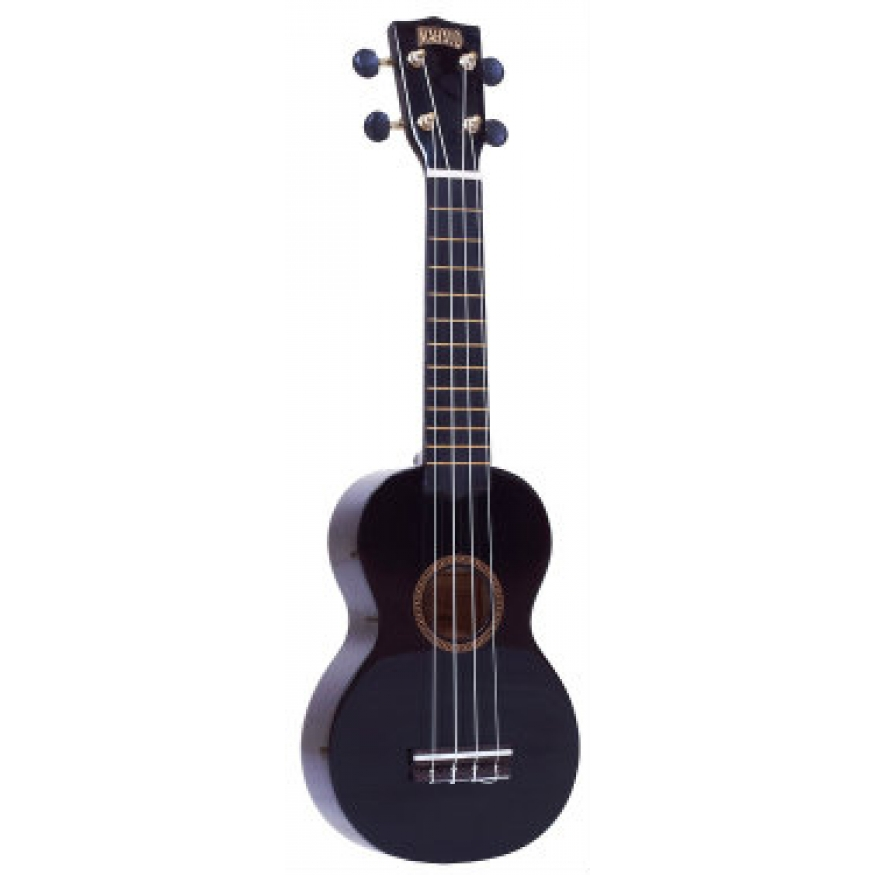 mahalo mr1 soprano ukulele black at promenade music
