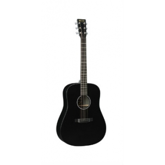 Martin & Co DXAE Electro Acoustic in Black with Hard Case, Secondhand